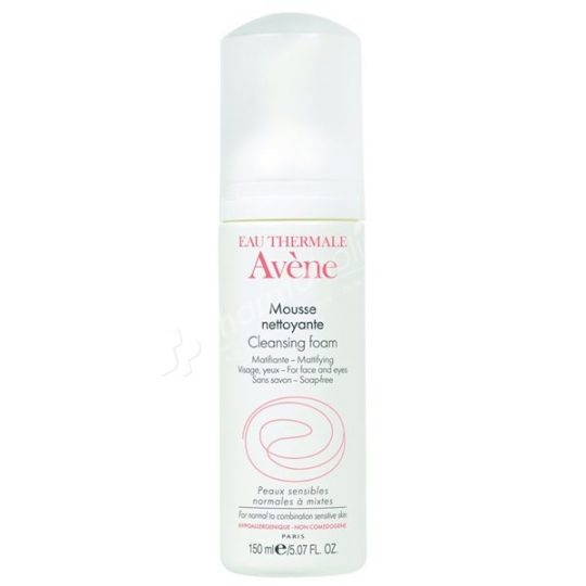 Avène Cleansing Foam for Face & Eyes