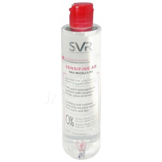 SVR Sensifine AR Soothing Anti-Redness Cleansing Micellar Water
