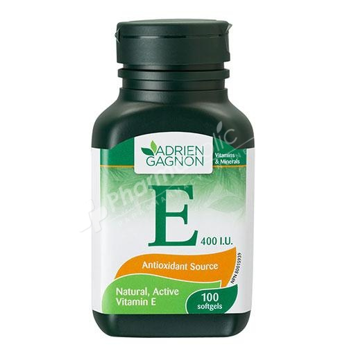 Adrien Gagnon Vitamin E 400 IU