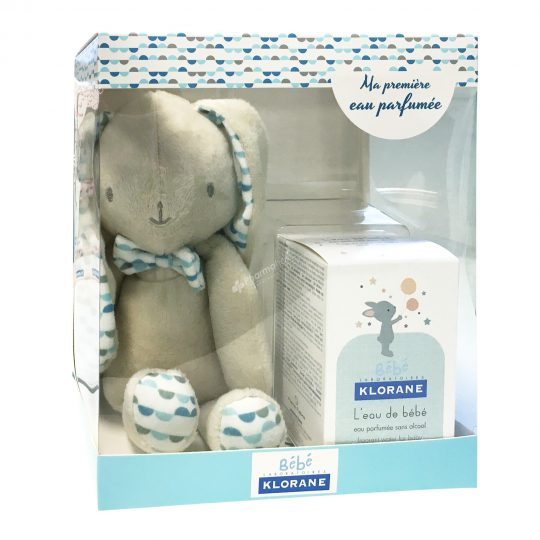 Klorane Baby Water 50ml +  Rabbit Teddy for Boys