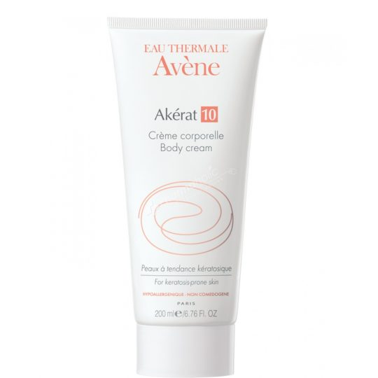 Avene Akerat10 Body Cream