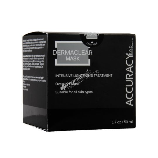 Accuracy Dermaclear Intensive Lightening Treatment Overnight Mask