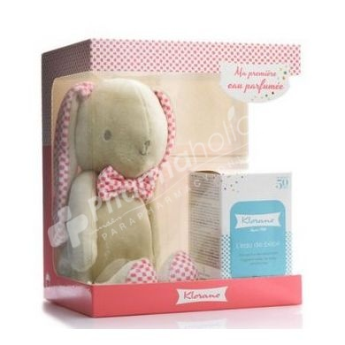 Klorane Baby Water 50ml +  Rabbit Teddy for Girls