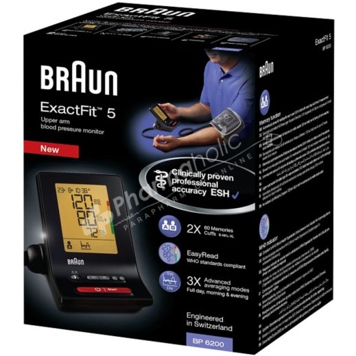 Braun ExactFit 5 Upper Arm Blood Pressure Monitor
