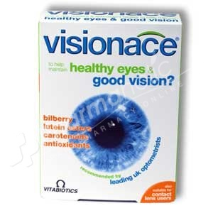 Vitabiotics Visionace for Healthy Eyes and Good Vision
