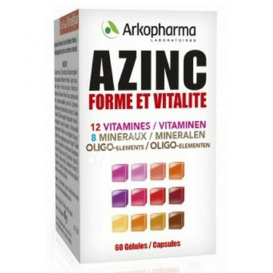 Arkopharma Azinc Form and Vitality