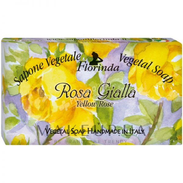 Florinda Vegetal Soap Yellow Rose