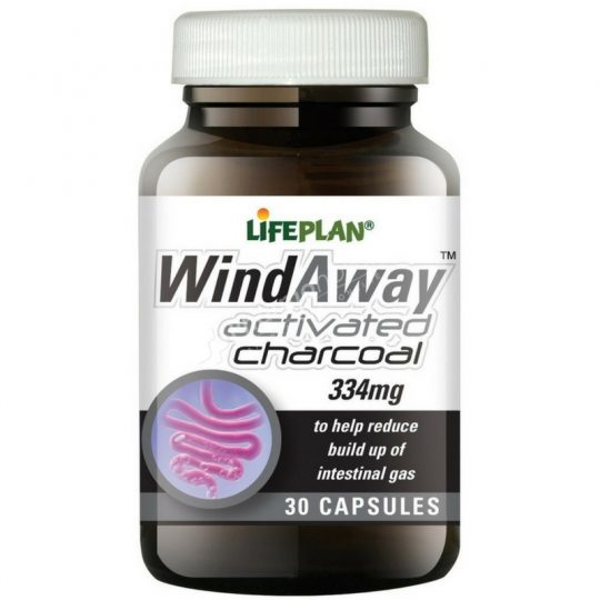 Lifeplan Wind Away Activated Charcoal