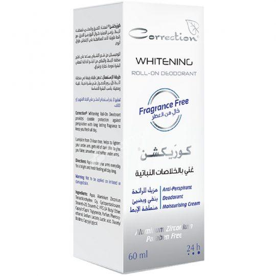 Correction Herbal Actives Whitening Roll-On Deodorant Fragrance Free