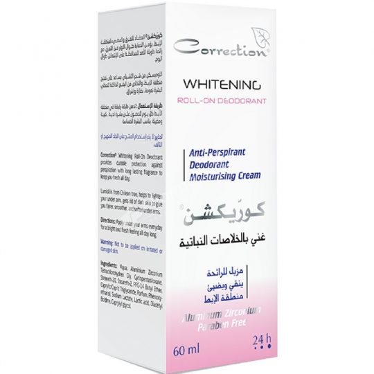 Correction Herbal Actives Whitening Roll-On Deodorant
