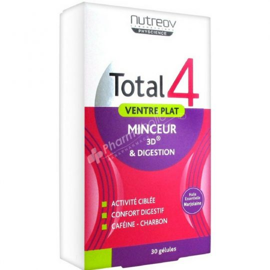 Nutreov Total 4 Flat Stomach Slimness 3D