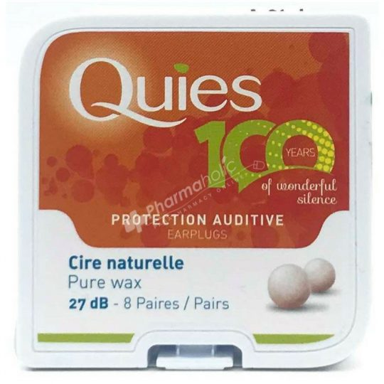 Quies Protection Auditive Earplugs Pure Wax