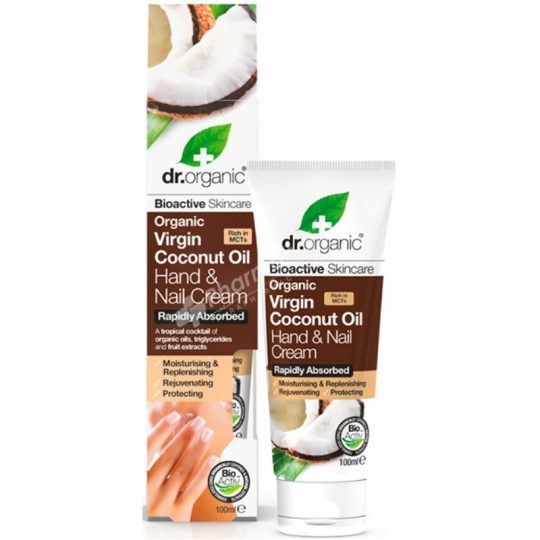 Dr.Organic Organic Virgin Coconut Oil Hand & Nail Cream