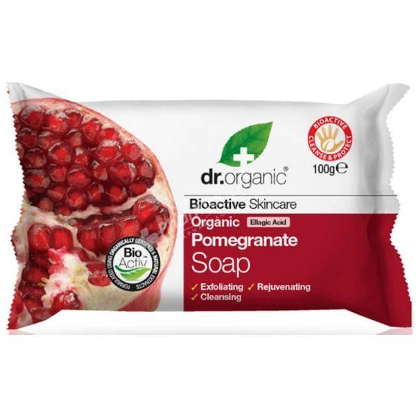 Dr.Organic Organic Pomegranate Soap