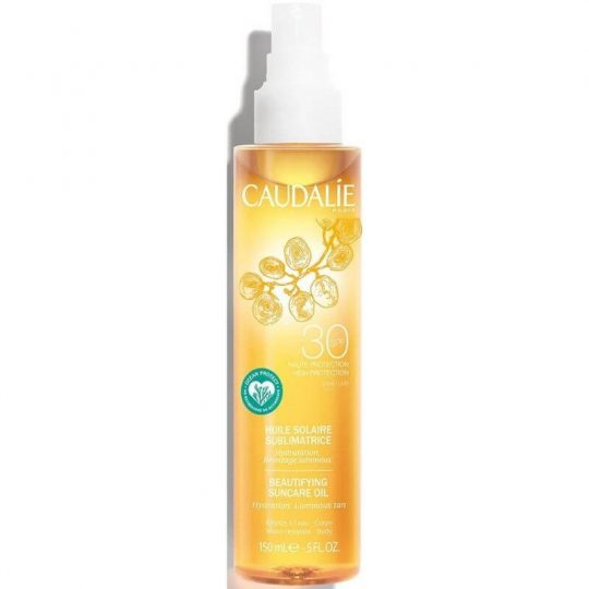 Caudalie Beautifying Suncare Oil SPF30
