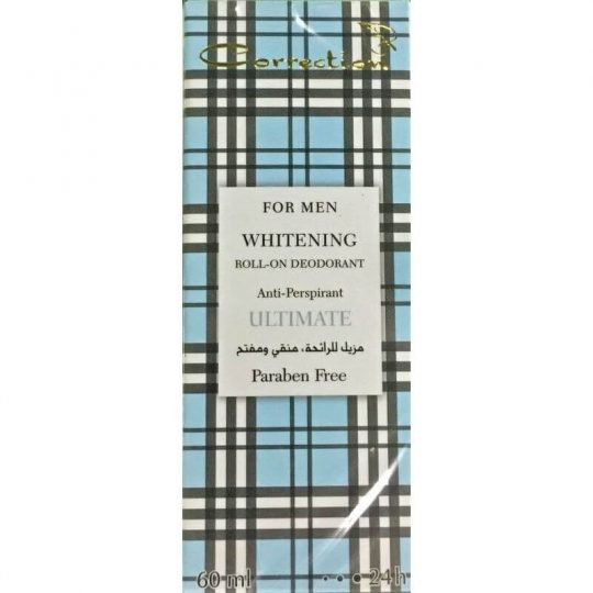 Correction Whitening Roll-on Deodorant for Men Ultimate