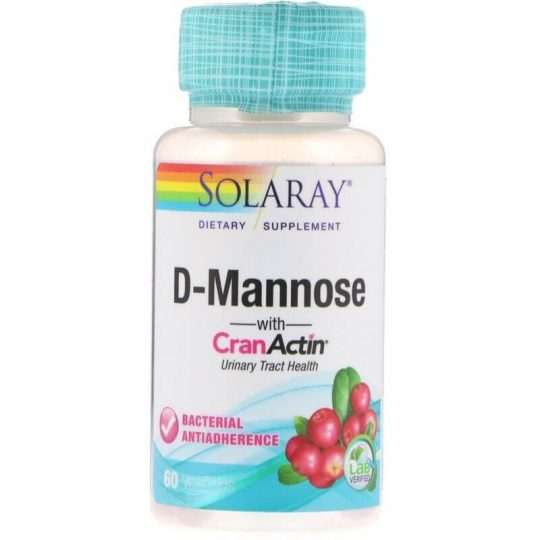 Solaray D-Mannose with CranActin