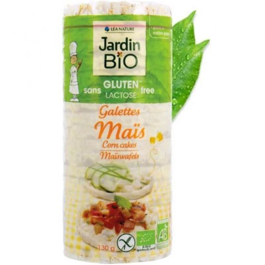 Jardin Bio Corn Cakes