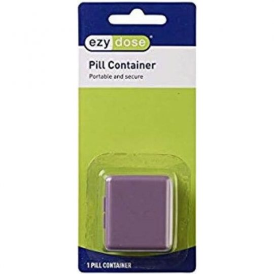 Portable Secure Pill Container