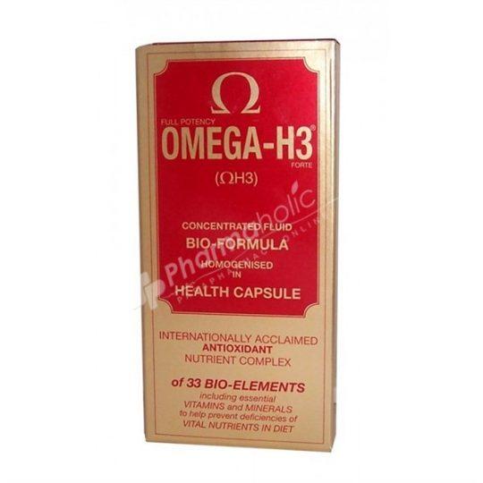 Vitabiotics Omega-H3 Health & Vitality Complex -30 tablets-