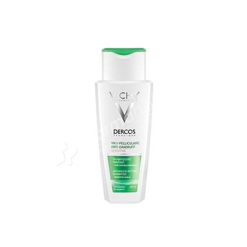 Vichy Dercos Anti-Dandruff Treatment Shampoo Sensitive Scalp