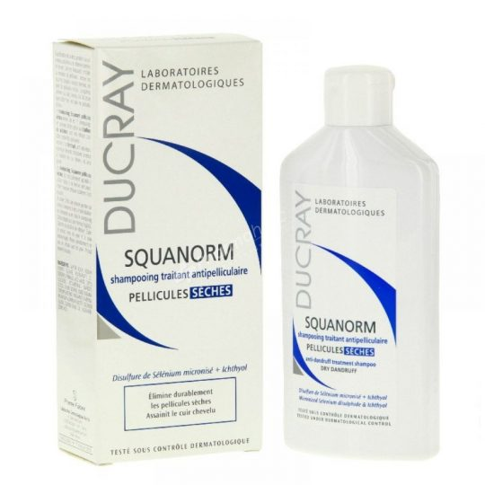 Ducray Squanorm Anti-Dandruff Treatment Shampoo Dry Dandruff