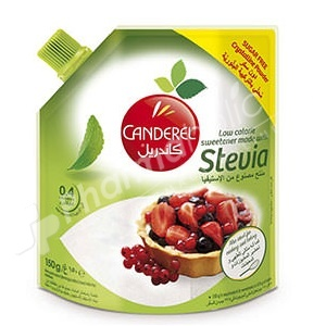 Canderel Low Calorie Sweetener with Stevia Crystalline Powder