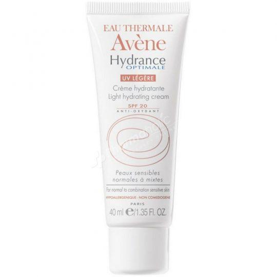 Avène Hydrance Optimale UV Light SPF 20 Hydrating Cream