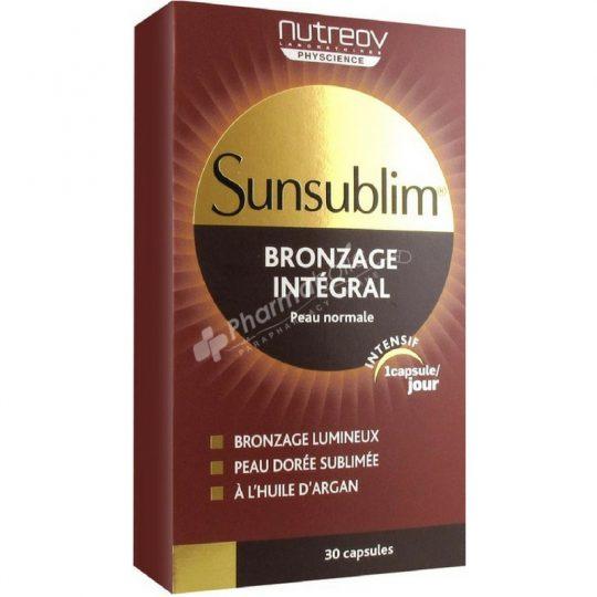 Nutreov Sunsublim Bronzage Integral 30capsules