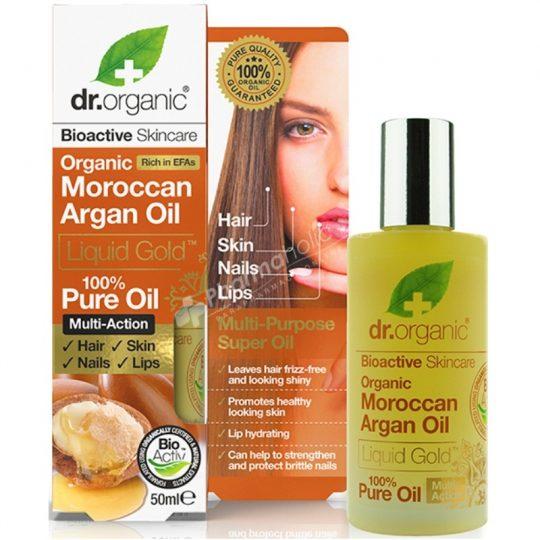 Dr.Organic Organic Moroccan Argan Oil Liquid Gold