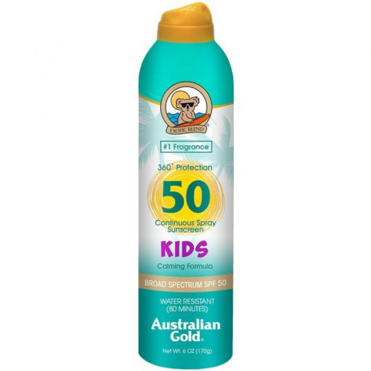 Australian Gold Kids Sunscreen Continuous Spray