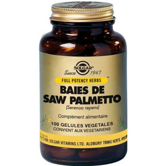 Solgar Saw Palmetto